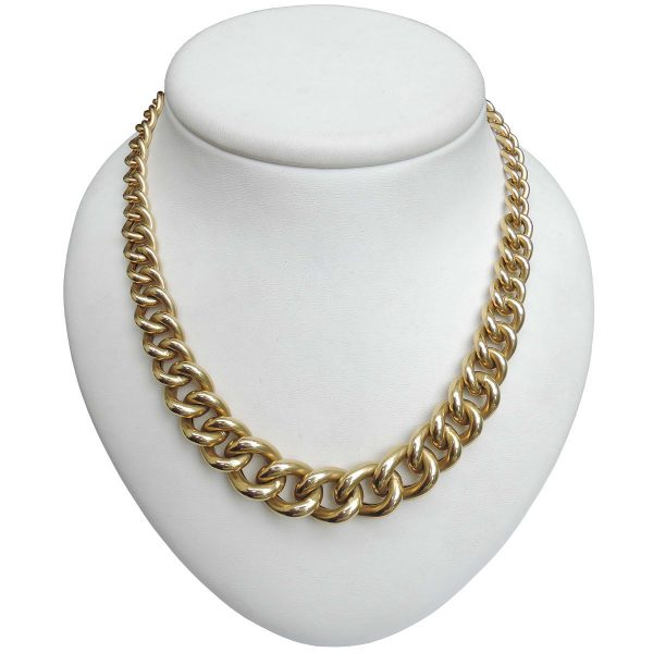Gourmette collier, 18K, occasion