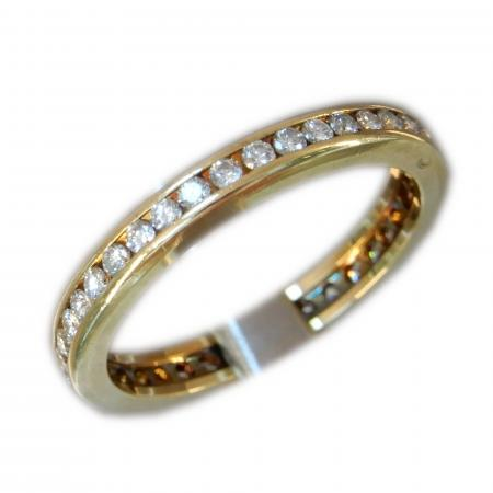 Ring, Alliance, 0,39 ct., 18K Goud
