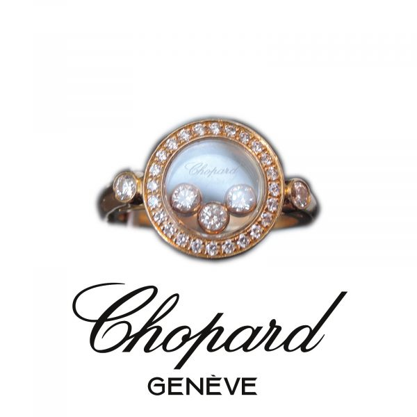 Ring, Happy Diamonds, Chopard, Paris, 18K Goud