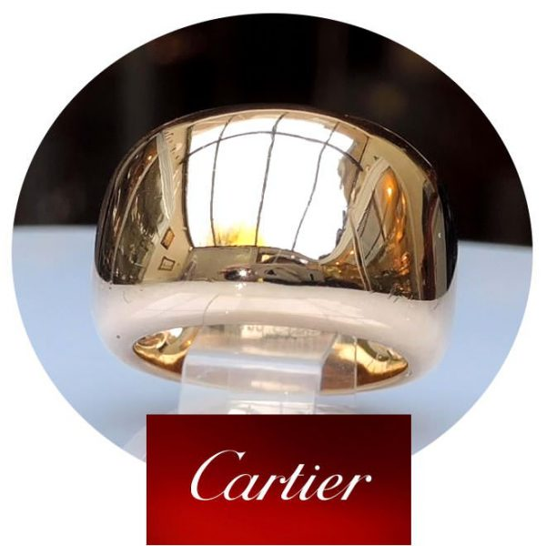 Nouvelle Vague ring, 18K Cartier, M 16,25