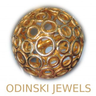Odinski Jewels, Ring, Bol, 14K Goud