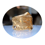 Ring, Design, Diamant, 18K Goud Klein