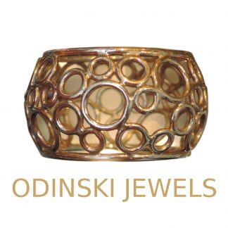Odinsky Jewels, band ring, 14K goud