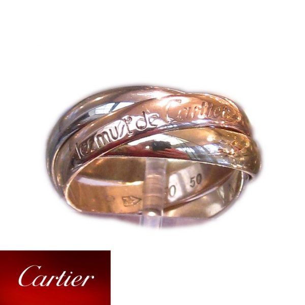 Les must de Cartier Trinity, Ring, 18K Goud