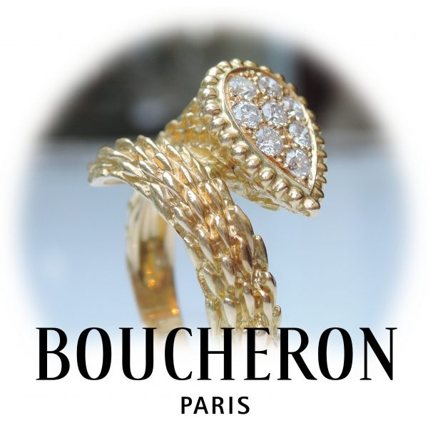 BOUCHERON Serpent Bohème, ring, 18K
